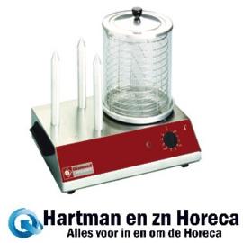 STAR-HD/R - Worsten verwarmer elektrisch, 3 staafjes DIAMOND