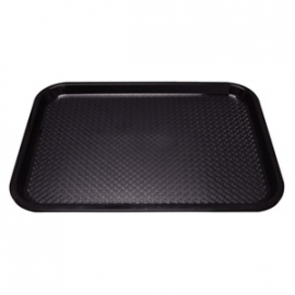 P501- Dienblad polyprop 310x415mm zwart