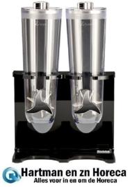 145162 - Polycarbonaat Muesli Dispenser  2 x 1,5 Liter