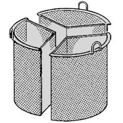 A9/CP-103 Mand 3 sectoren, 100 liter Diamond