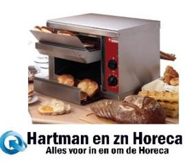 TA/540 -  Automatische broodrooster /  toaster, 540 toasts/uur DIAMOND