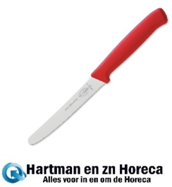 GL296 - Dick Pro Dynamic gekarteld officemes rood 11,5 cm