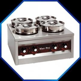 921454 - FOODWARMER Max Pro Met vier potten