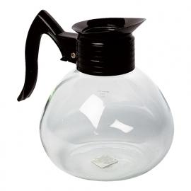 320905 - KOFFIEKAN met kunststof greep, glas