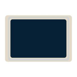 DS080 -Roltex Original dienblad blauw 53x37cm