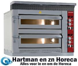 LD8/35-N - Elektrische pizzaoven, 2x 4 pizzas Ø 350 mm DIAMOND