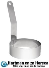 GD696 - Vogue eierbakring met lang handvat 10 cm