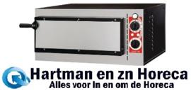 DS180 -Gastro M Pisa pizzaoven met 1 kamer