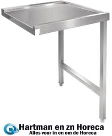 GJ536 - Vogue doorvoer spoeltafel rechts 110 cm