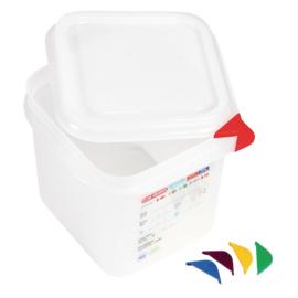 T984 - Araven GN1/6 voedselbak met deksel 2,6 Liter