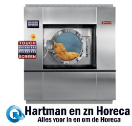 DRW30-TS/D - Wasmachine, verankert, 30 kg , in R.V.S. met TOUCH SCREEN DIAMOND