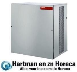 ICEV500A - Machine voor vlakke ijsblokjes 200 kg, zonder reserve - Lucht gekoeld DIAMOND