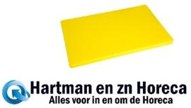 HC884 -Hygiplas LDPE extra dikke snijplank geel