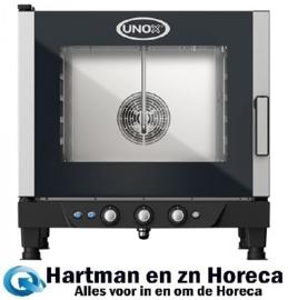 596724 - ChefLux Manual Elektrische combi stoomoven - 5x 1/1 GN UNOX