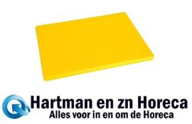 HC883 -Hygiplas LDPE snijplanken geel