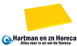 GH796 -Hygiplas LDPE snijplank geel 305x229x12mm