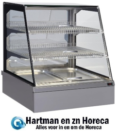 CT021 - Warmhoudvitrine GN2/1