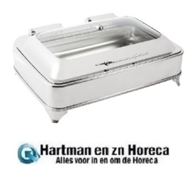 GD128 -Olympia rechthoekige elektrische chafing dish