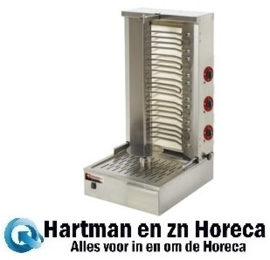 KEB-E80 - Elektrische gyros grill 55 kg DIAMOND