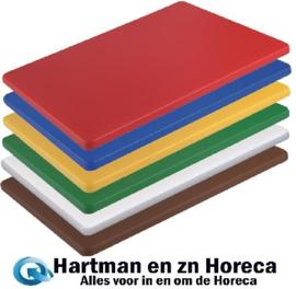 HC885 - Hygiplas kleine LDPE snijplanken set 300 x 225 x 10 mm