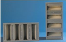 23636 - Cassettefilter type Inter-V 65%, filterklasse F-6(EU-6) 289 x 594 x 292