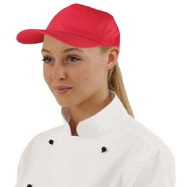 A217 - Whites baseball cap rood