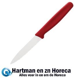 C982 - Victorinox gekarteld schilmesje rood 7,5cm