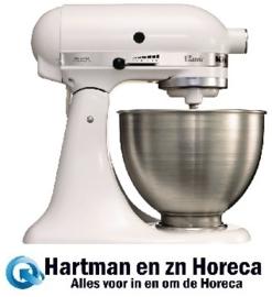 J400 - KitchenAid K45 mixer-keukenrobot wit 4,28 Liter