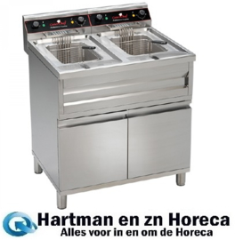 508224 - Friteuse - 2 X 12 L - CaterChef