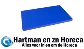 DM005 Hygiplas LDPE extra dikke snijplank blauw)