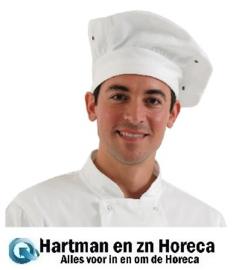 A963 - Chef Works koksmuts wit