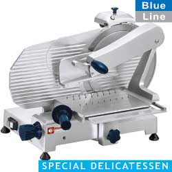300/BSV - Professionele verticale snijmachine, Ø 300 mm Delicatessen DIAMOND BLEU LINE