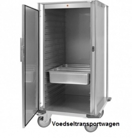 720140 - Voedseltransportwagen - verwarmd, 2x 16x 2/1 GN