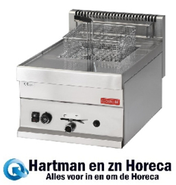 GN063 - Gastro-M 650-serie gas friteuse 65/40 FRG