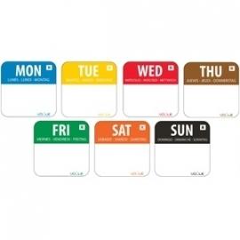S151 - Vogue SET weekdagen stickers