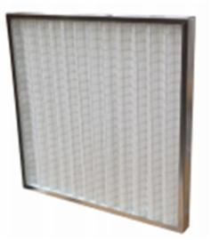 103995 - Metalen vlakfilter met plissé filterdoek, klasse F7 - FZ Galva G4 - B455 X H720 X D96 MM