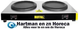 L413 - Buffalo warmhoudplaatjes 160 Watt