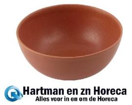 FC713 -Olympia Build A Bowl diepe kom cantaloupe 15x7cm (6 stuks)