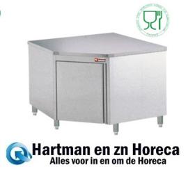 TAN100/M - Neutrale werktafelkast met hoek van 90° - mm (BxDxH) : 1000x1000xh880/900 DIAMOND