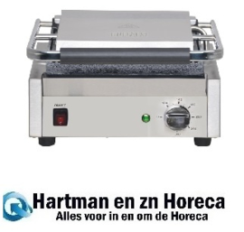 DY997 -Buffalo Bistro enkele contactgrill groot glad/glad