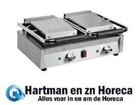 DY994 -Buffalo Bistro dubbele contactgrill groef/groef