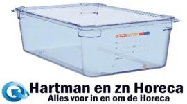 GP590 - Araven ABS blauwe GN1/1 voedseldoos 150mm