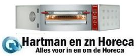 CGD/1-DG - Elektrische oven hoekmodel, 1 kamer 8 pizza's Ø 350 mm DIAMOND