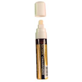 GF260 - Securit krijtstiften 15 mm wit set 8 stuks