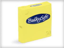 T32236 - Bulkysoft Servet 2 Laags 33×33 1/4 Vouw 1200st Lemon