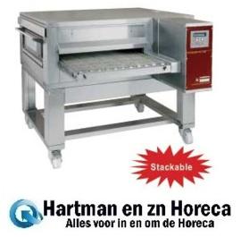 FTEV 65/110-N - Elektrische pizza band tunnel-oven geventileerd, breedte 650 mm DIAMOND