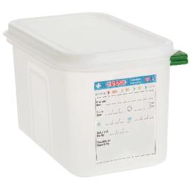 T985 - Araven GN1/4 voedselbak met deksel 4,3 Liter
