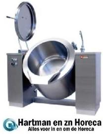 EMB/150I - Elektrische kantelbare kookketel 150 liter, indirecte verwarming DIAMOND