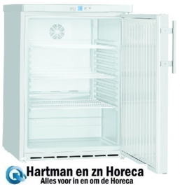 405216500 - Onderbouw glazendeurkoelkast NordCap UKU 165 W-G