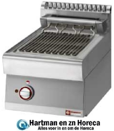VEX47-PB - Elektrische stoom-grill, 1/2 module DIAMOND